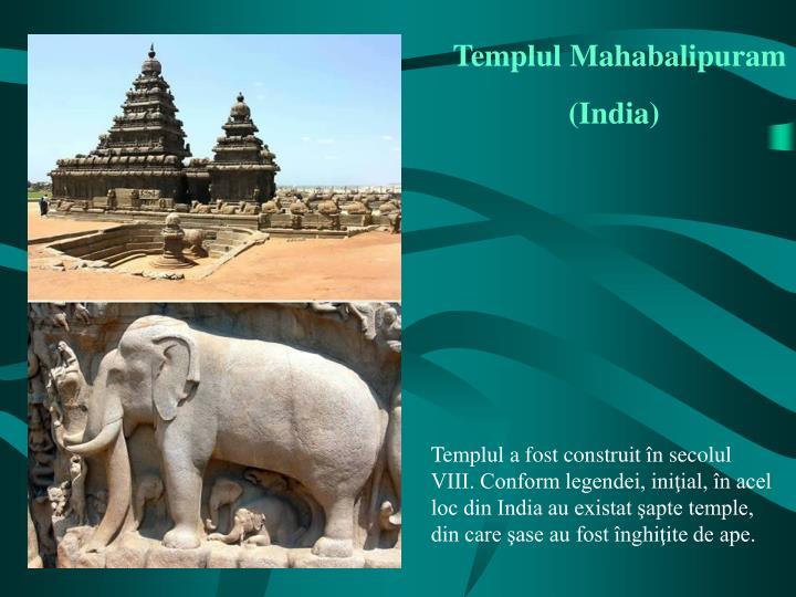 Templul Mahabalipuram