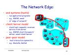the network edge