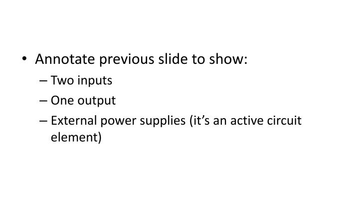 Annotate previous slide to show: