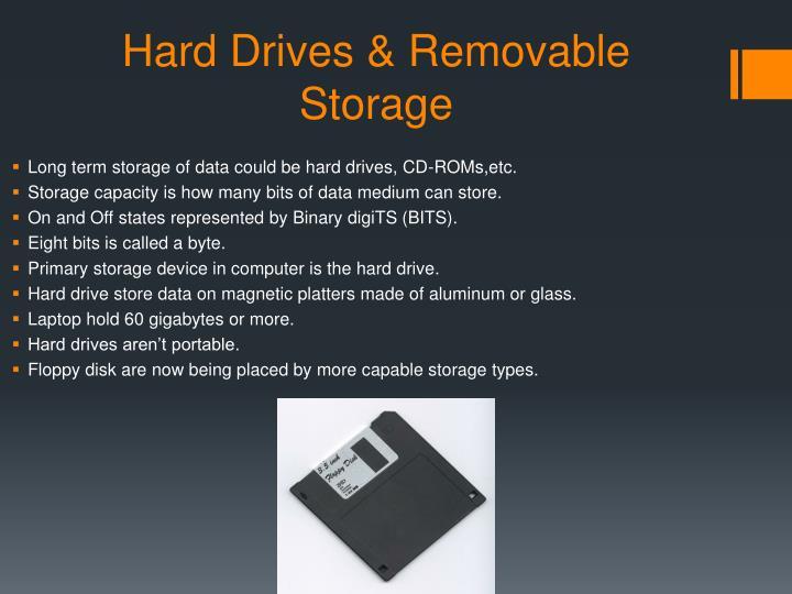 Hard Drives & Removable Storage