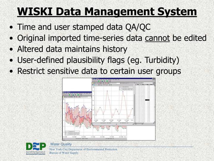 WISKI Data Management System