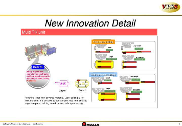 New Innovation Detail