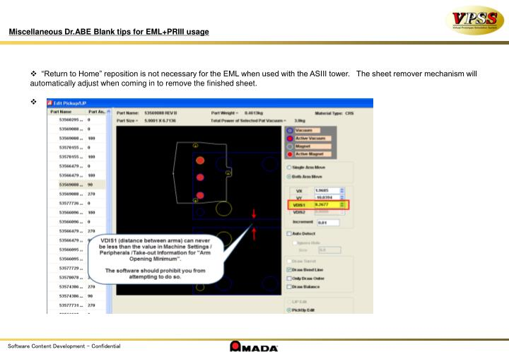 Miscellaneous Dr.ABE Blank tips for EML+PRIII usage