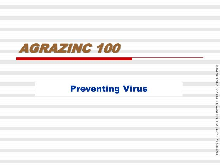 AGRAZINC 100