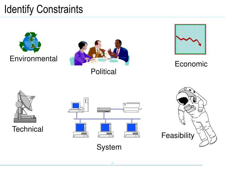 Identify Constraints