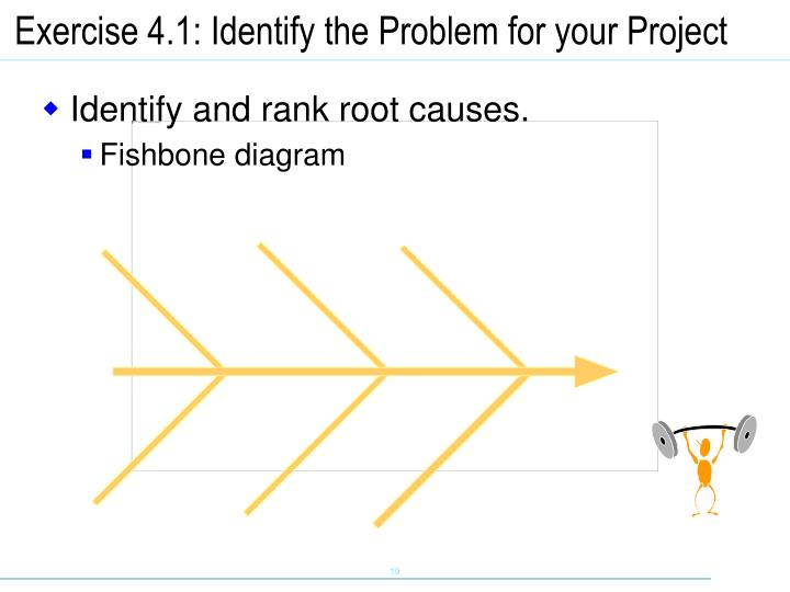 Exercise 4.1: Identify the Problem for your Project