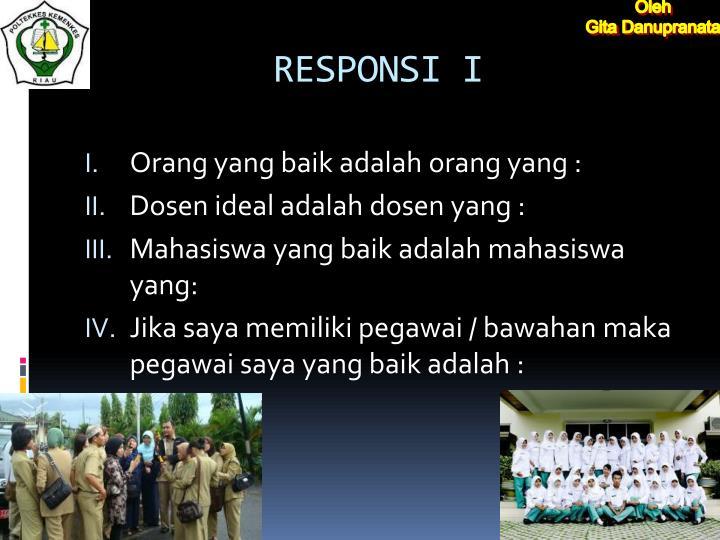 RESPONSI I