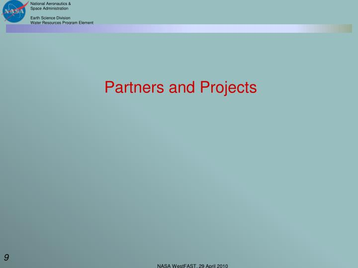 Partners and Projects