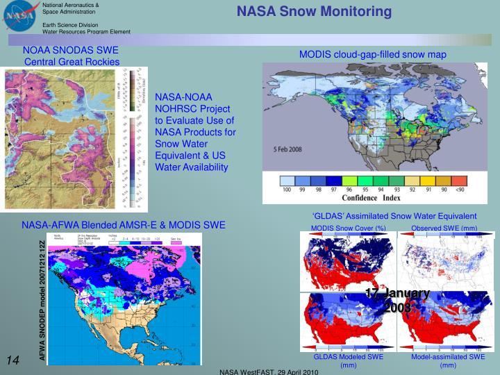 NASA Snow Monitoring