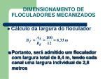 dimensionamento de floculadores mecanizados3
