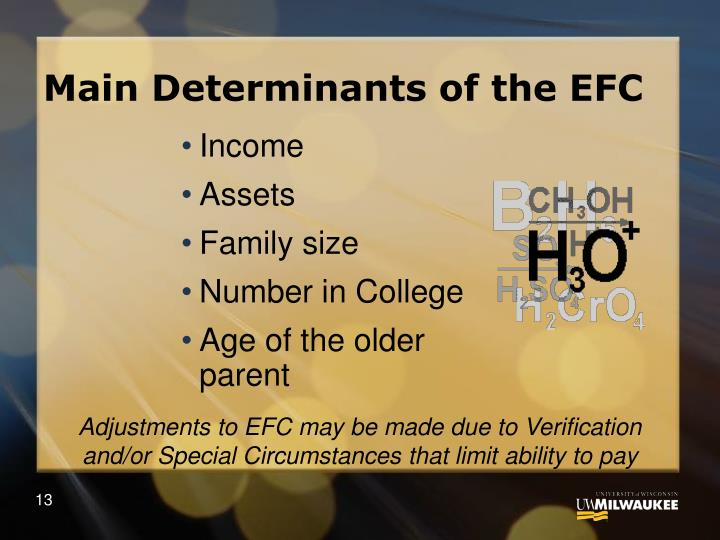 Main Determinants of the EFC