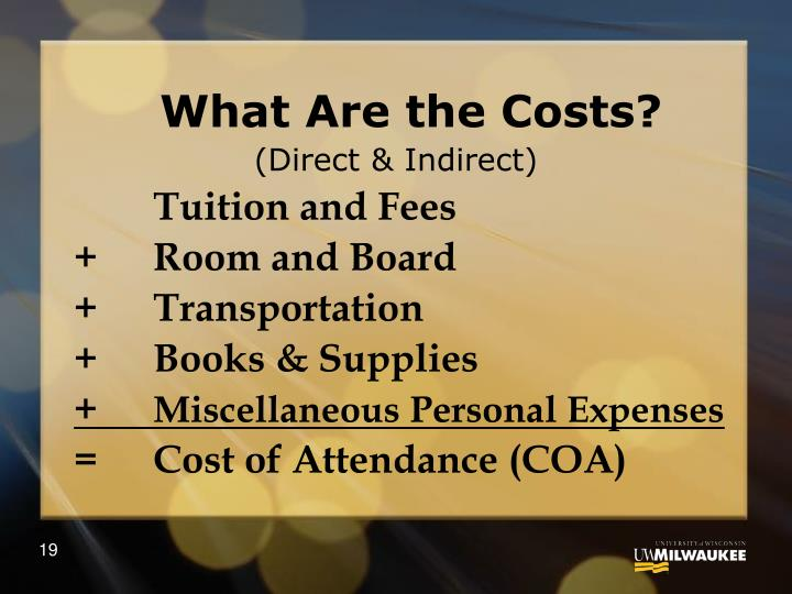 What Are the Costs?