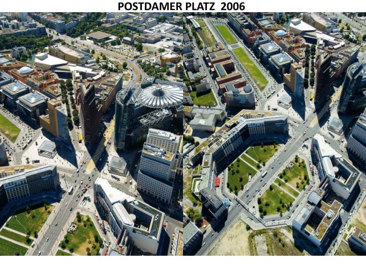 POSTDAMER PLATZ  2006
