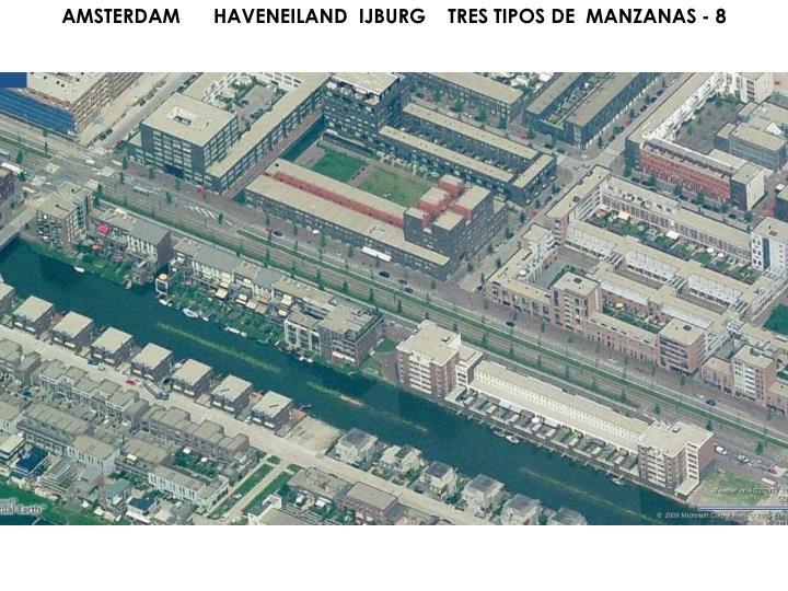AMSTERDAM      HAVENEILAND  IJBURG    TRES TIPOS DE  MANZANAS - 8
