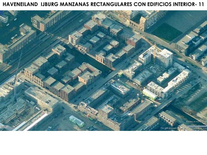 HAVENEILAND  IJBURG MANZANAS RECTANGULARES CON EDIFICIOS INTERIOR- 11