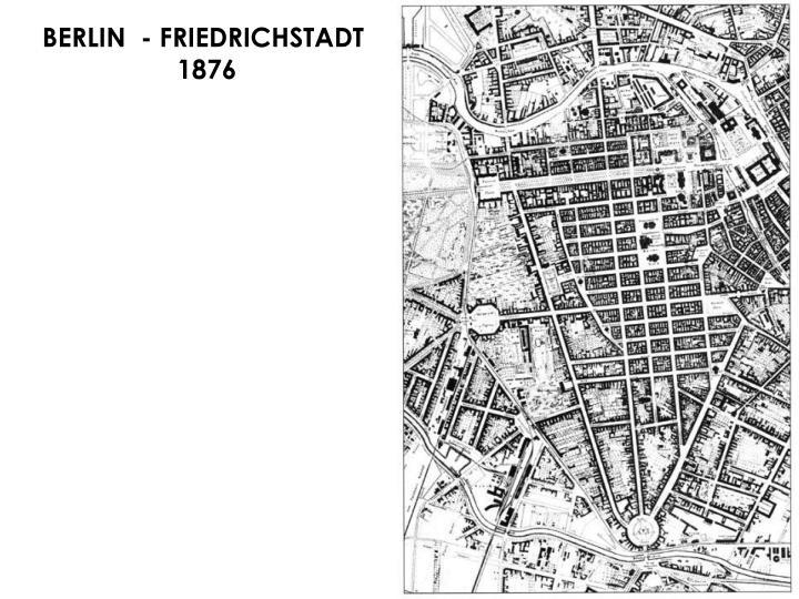 BERLIN  - FRIEDRICHSTADT