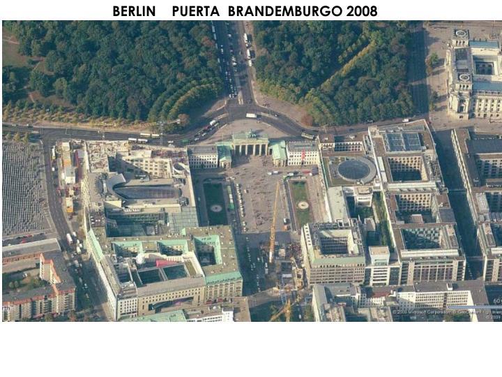 BERLIN    PUERTA  BRANDEMBURGO 2008