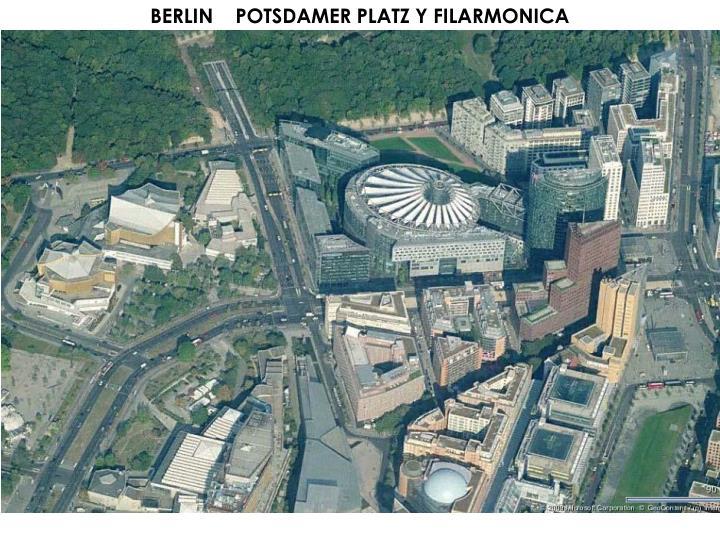 BERLIN    POTSDAMER PLATZ Y FILARMONICA