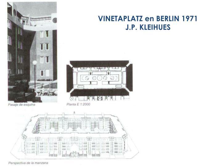 VINETAPLATZ en BERLIN 1971