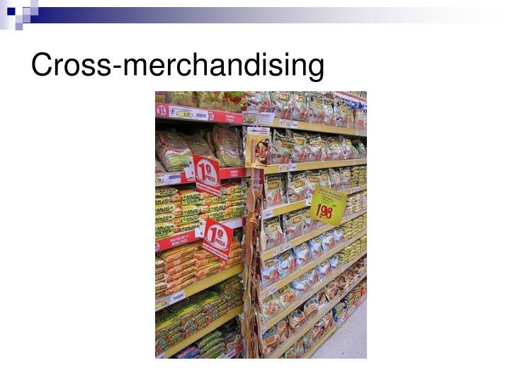 Cross-merchandising