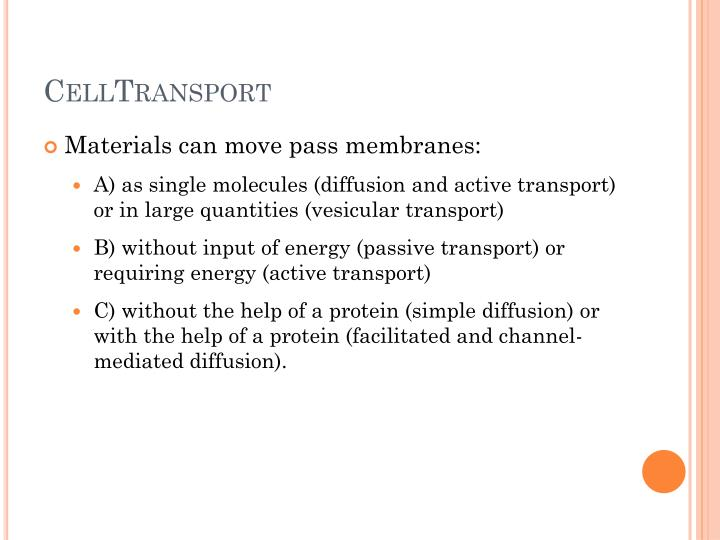 CellTransport