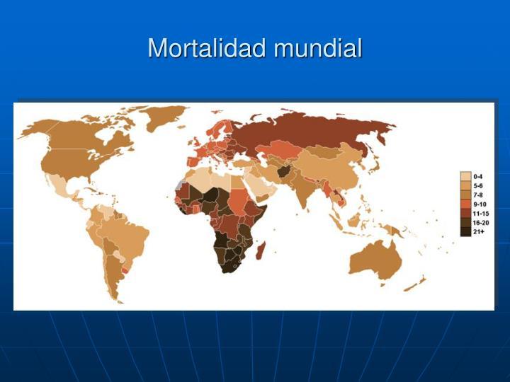 Mortalidad mundial