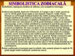 simbolistica zodiacal