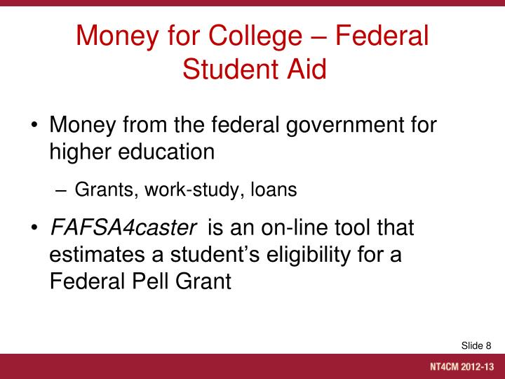 Money for College – Federal Student Aid