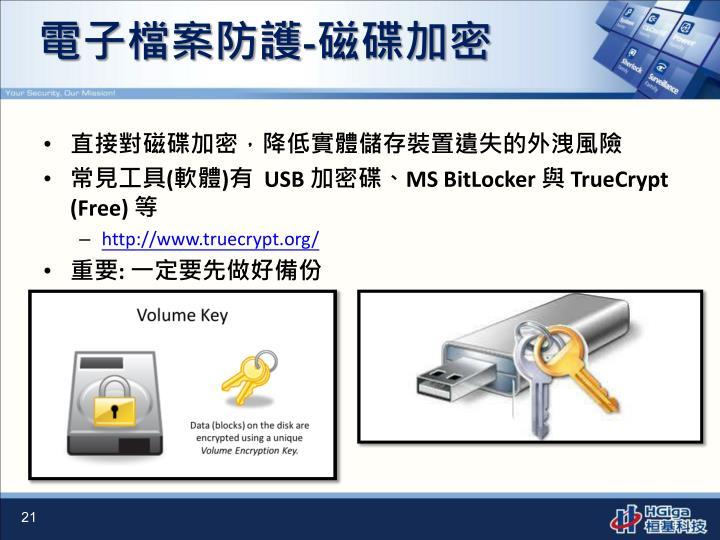 電子檔案防護
