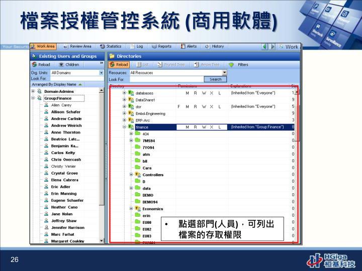 檔案授權管控系統
