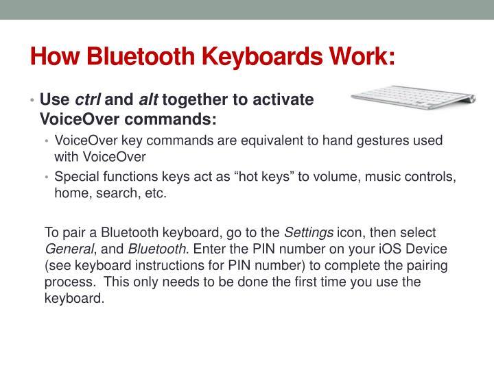 How Bluetooth Keyboards Work: