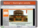 booker t washington website