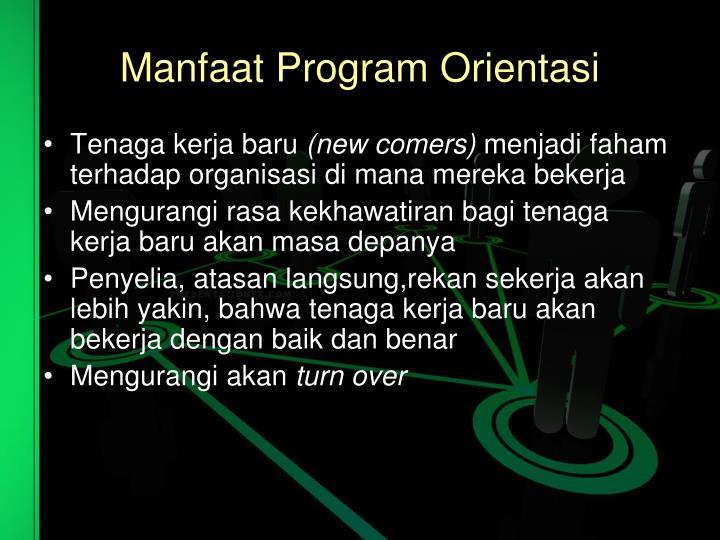 Manfaat Program Orientasi