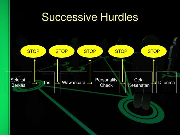 Successive Hurdles