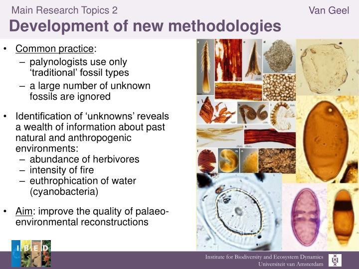 Main Research Topics 2