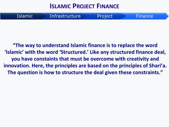 Islamic Project Finance
