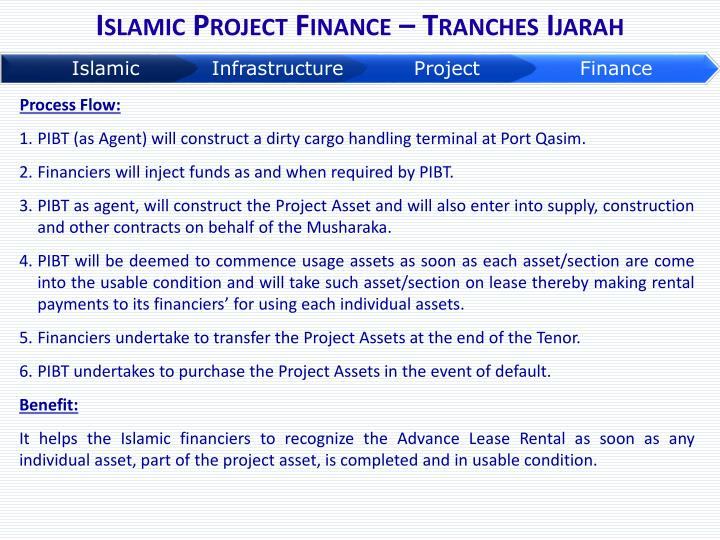 Islamic Project Finance – Tranches