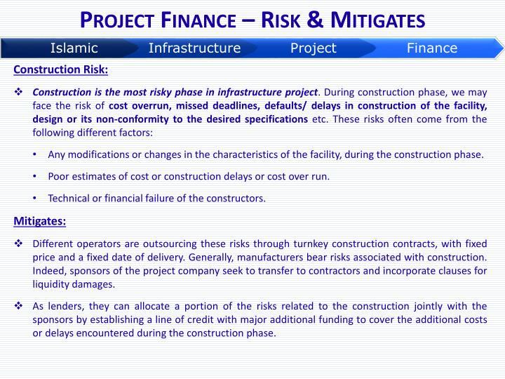 Project Finance – Risk & Mitigates