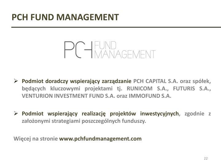 PCH FUND MANAGEMENT