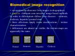 biomedical image recognition