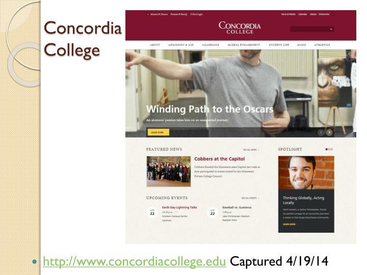 http://www.concordiacollege.edu
