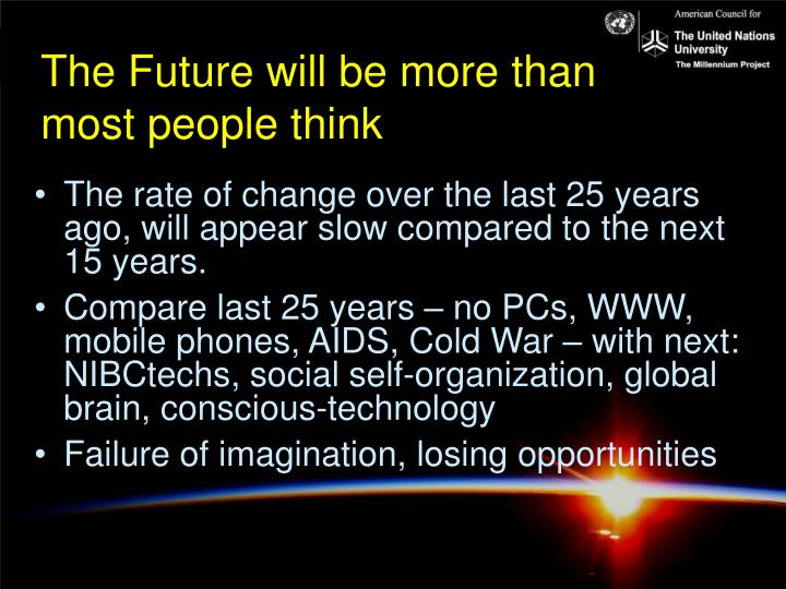 The Future will be more than