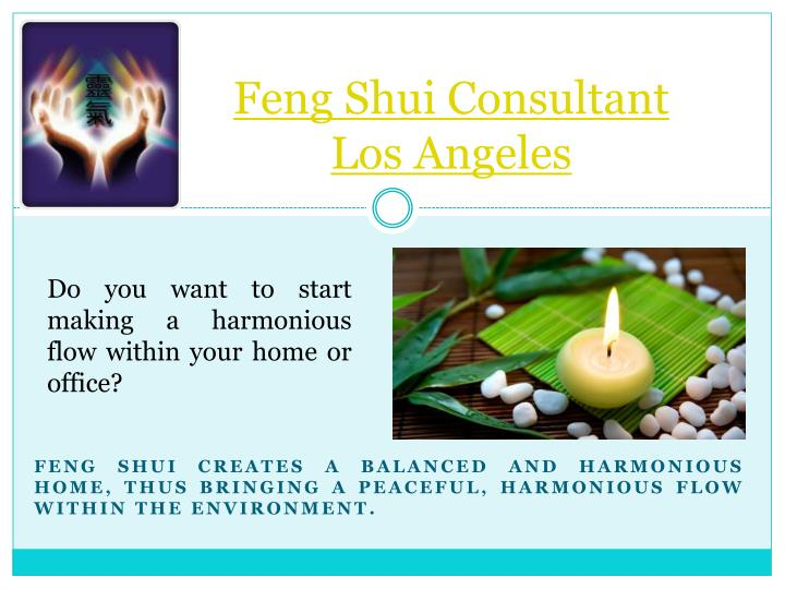 feng shui consultant los angeles