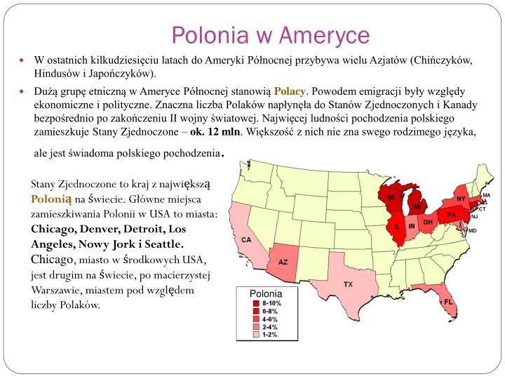 Polonia w Ameryce