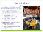 emory students