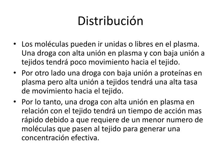 Distribución