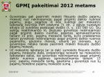 gpm pakeitimai 2012 metams2