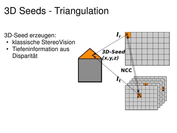 3D-Seed erzeugen: