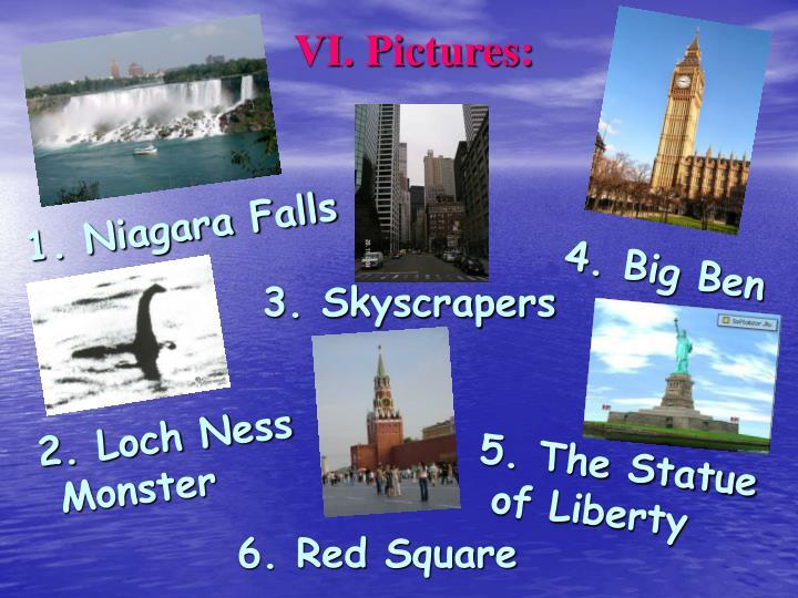 VI. Pictures: