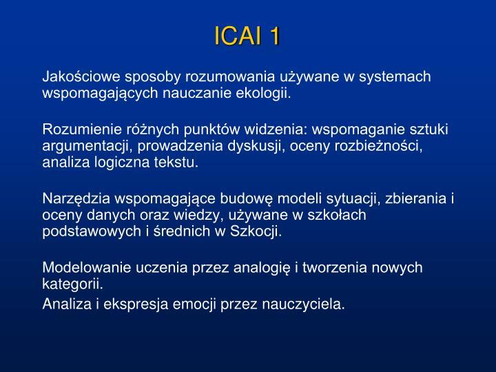 ICAI 1